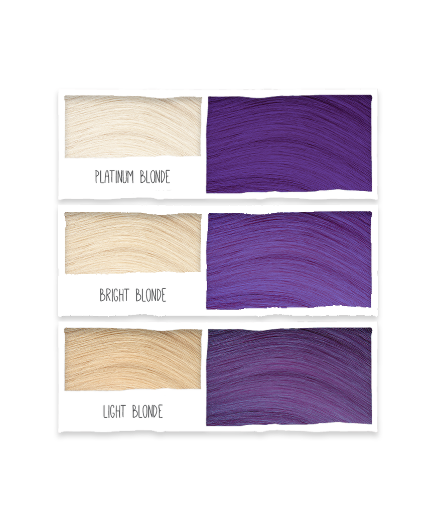 Bold Colours Purple Semi-Permanent Hair Colour