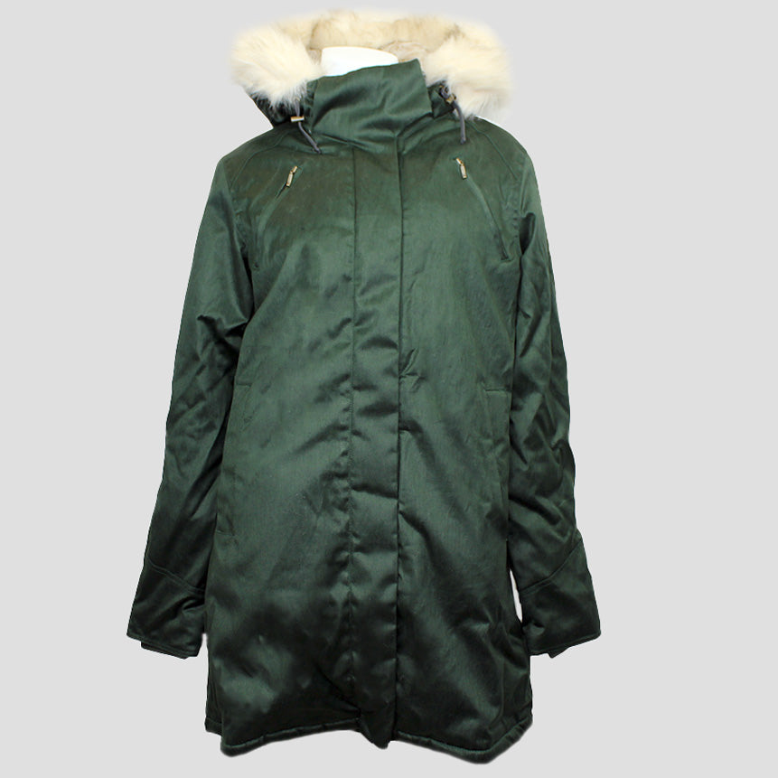 Ladies' W17 Nordic Parka Dark Army Green
