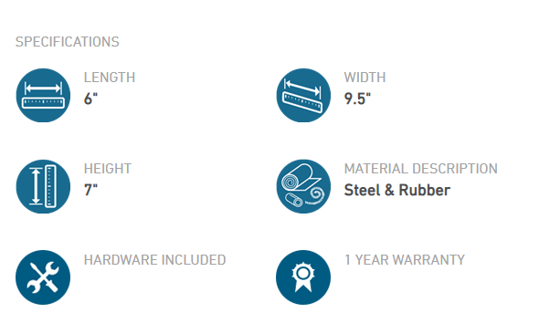 hammock wheel kit specifications