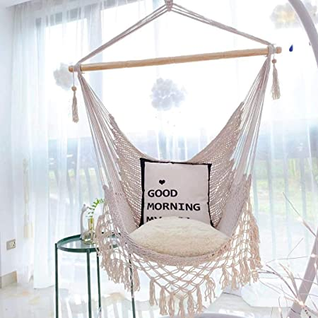 hammock chair with fringe