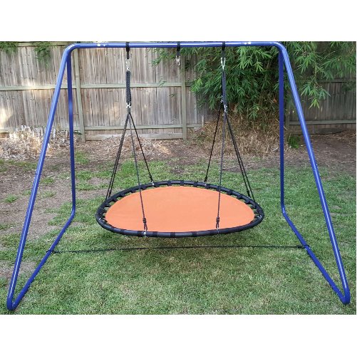150 cm orange mat nest swing with stand - how to hang a Sensory Swing