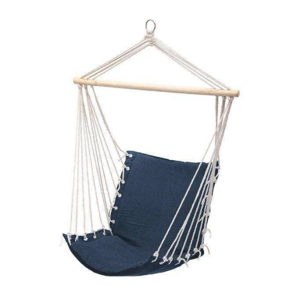 Comfy Hammock Chair in Blue