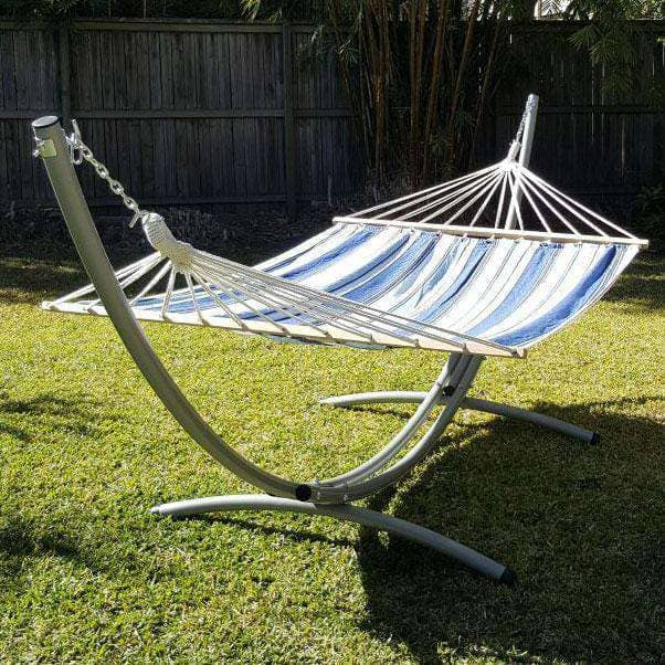 spreader bar with a hammock stand
