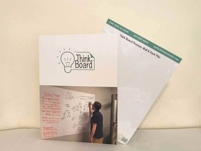 Office Sample Folder - Think Board Dry Erase Whiteboard Films