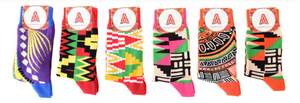 Afropop Socks are African Fashion for your feet
