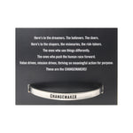 Quotable Cuff Bracelets - Be Kind and Changemaker Styles