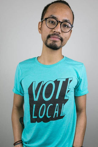 Culture Flock - Vote Local Tee Unisex