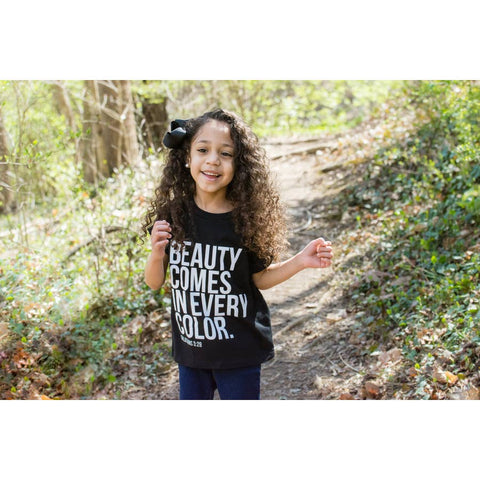 Beauty Comes in Every Color (Youth Large)