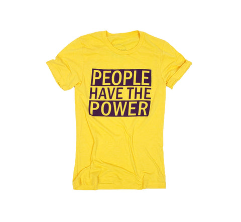 Philomena + Ruth - People Have the Power t-shirt