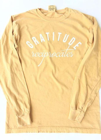 Gratitude Reciprocates Long Sleeve Tee