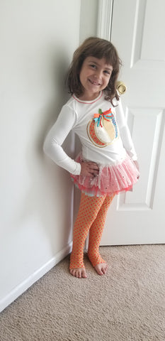 Pumpkin Leggings Set