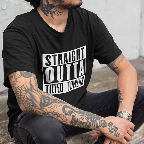 Fortnite Straight Outta Tilted Towers T-Shirt (Adult)