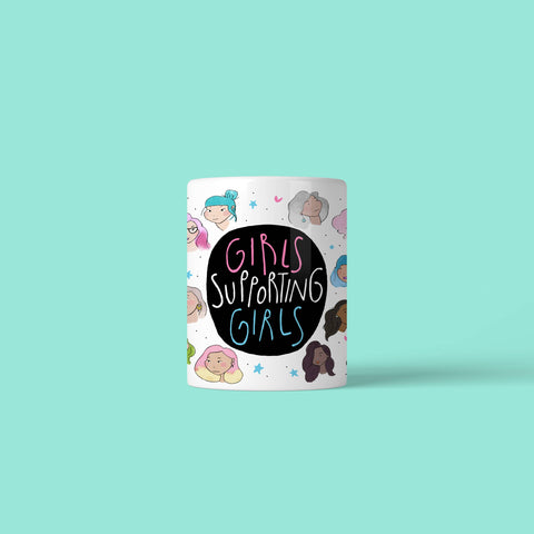 House Of Wonderland - Girls Supporting Girls Mug