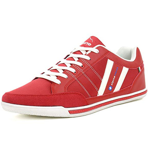 Men's Suede Trim Retro Fashion Sneakers