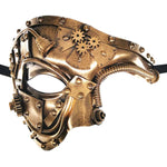 Steampunk Phantom Of The Opera Mechanical Man Mask