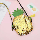 Sequins Pineapple Cross body Bag