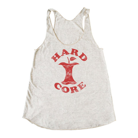 Bad Pickle Tees - Hardcore Apple Women's Tank Top | Oatmeal