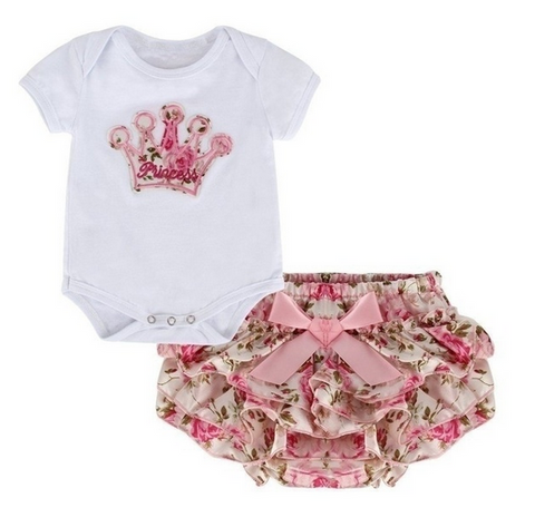 Valentine Outfit with Bloomers 2pcs