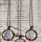 Bible Verse Necklaces (3 Styles)