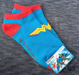 Wonder Woman Ankle Socks from Bioworld