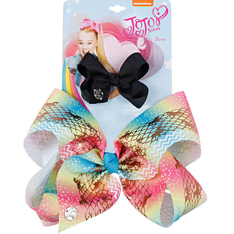 JoJo Rainbow Hair Bow
