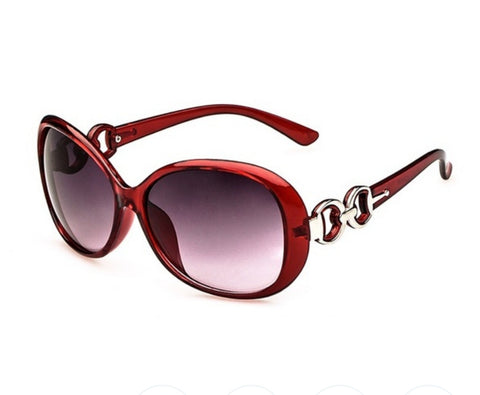 Women's Anti-UV Resin Lens Sunglasses