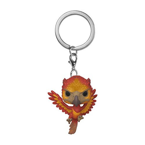 Harry Potter Fawkes Pocket Pop! Key Chain