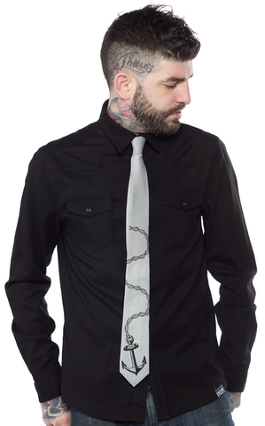 Men's Anchor Tie
