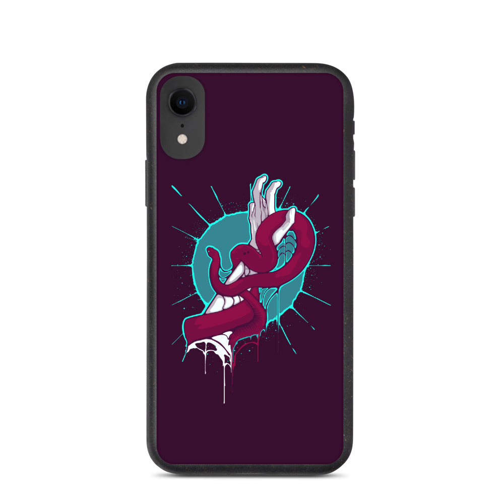 Snake Hand Iphone Case