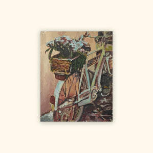 'Bike and Flowers'