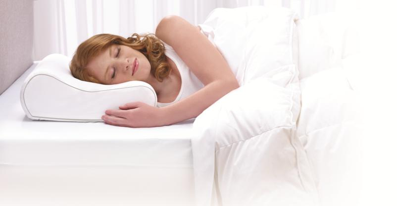 How to use an ergonomic shape memory pillow?