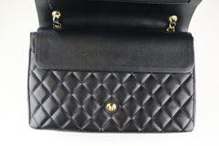 Black Caviar Double Flap Maxi