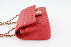 Red Caviar Medium Flap