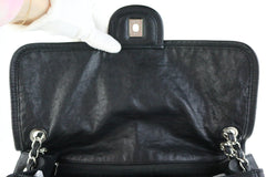 Black Large French Riviera Flap