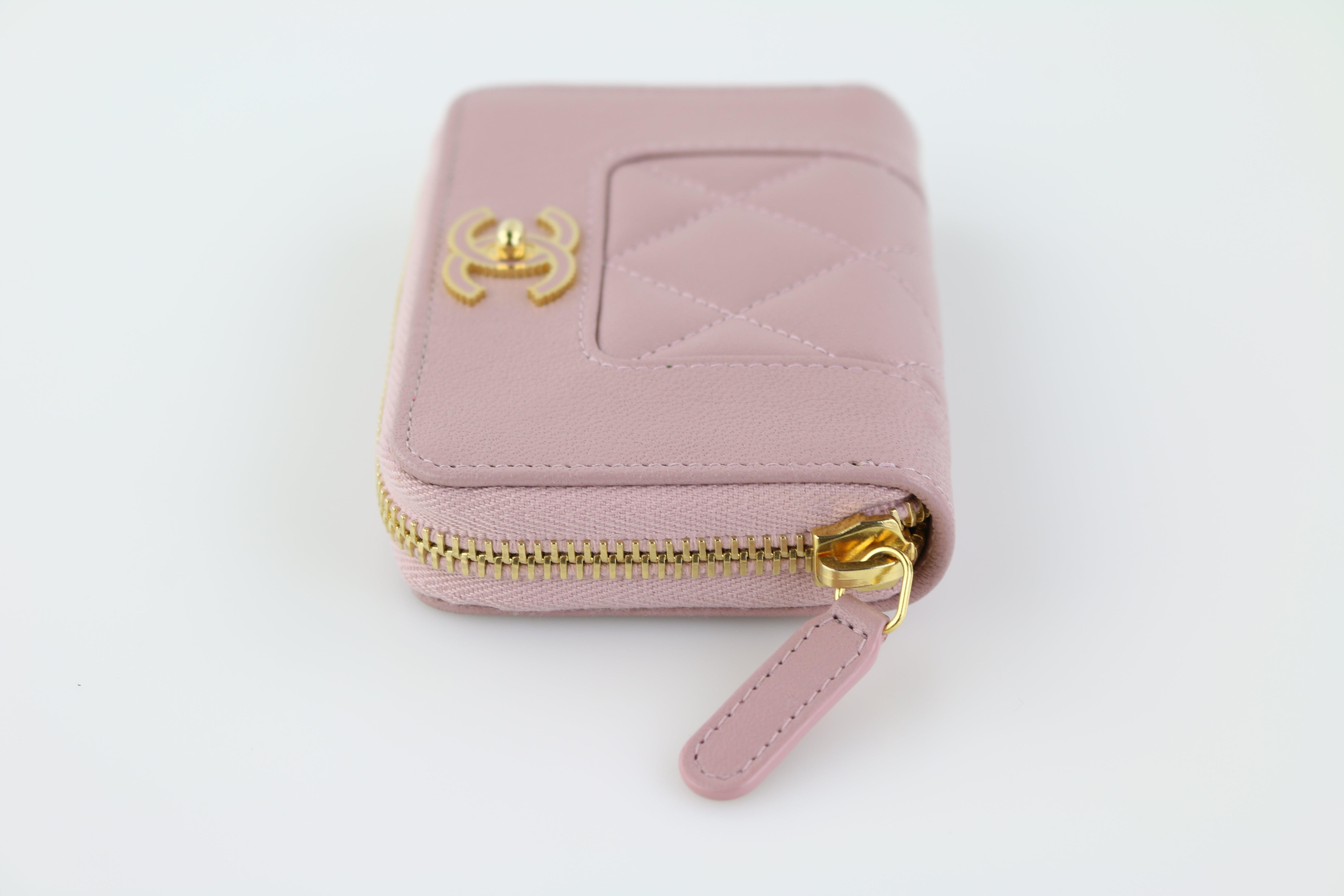 Pink Mademoiselle Zippy Coin Purse