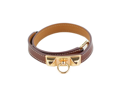 Brown Rivale Double Tour Bracelet