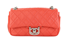 Coral Icons Secret Label Medium Flap