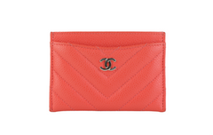 Coral Caviar Card Case