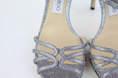 Multicolor Glitter Sandals
