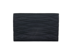 Vintage Black Satin Wallet/Clutch