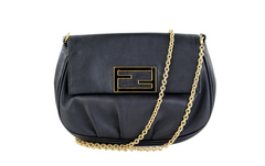 Fendista Black Pochette Cross Body