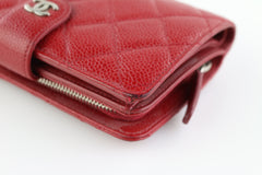 Red Caviar Snap Wallet