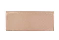 Nude Patent Microguccissima Small Broadway Clutch