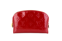 Red Vernis Cosmetic Case
