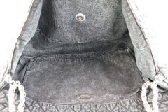 Charcoal XXL Denimpressions Flap