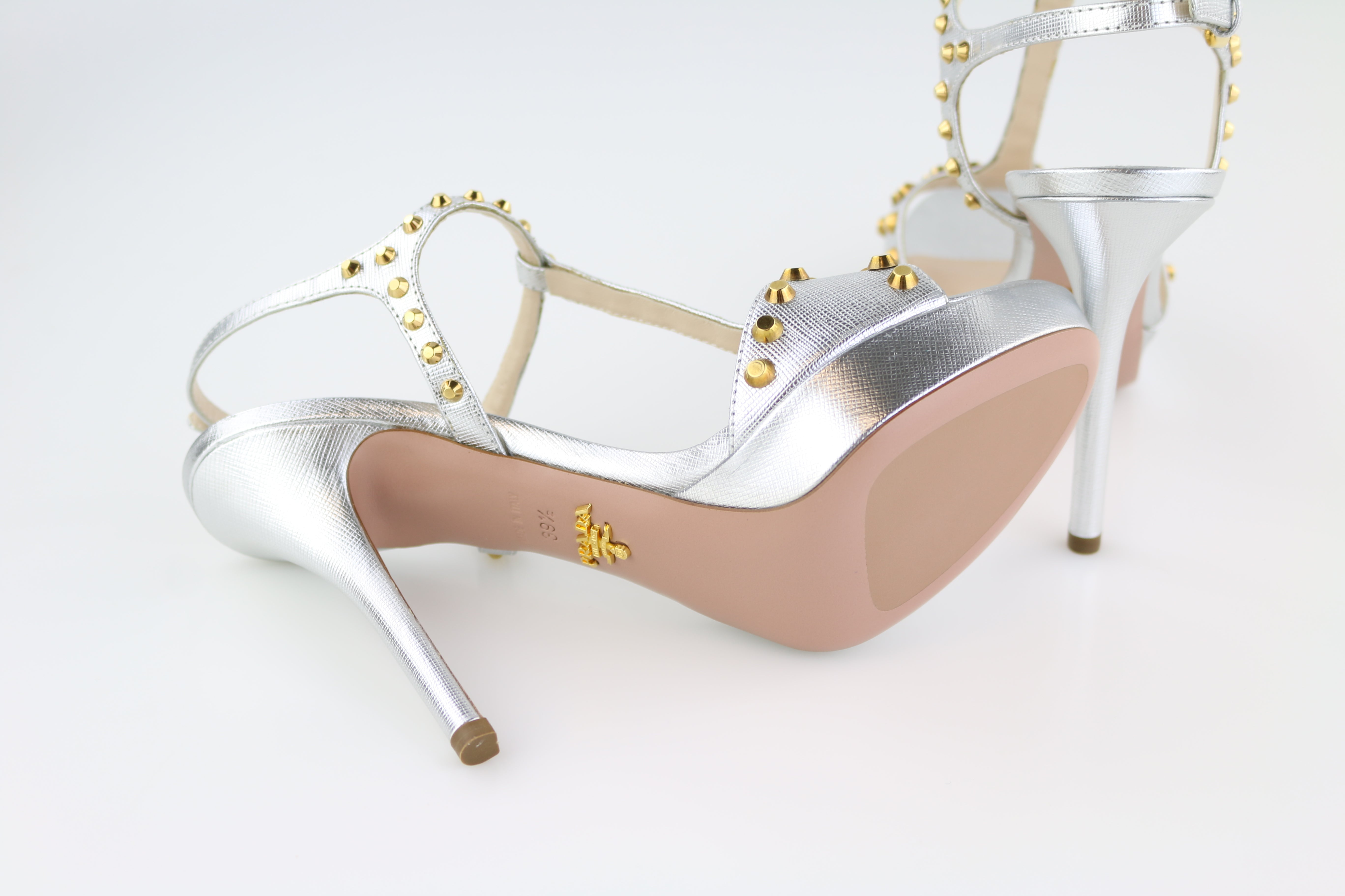 Silver/Gold Calzature Donna Sandals
