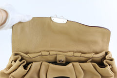 Beige Tassle Shoulder Bag
