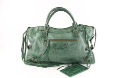 Emerald Green City Bag