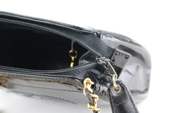 Black Patent Vintage Crossbody