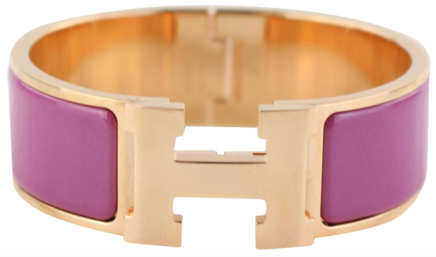 Rose Azalee/Rose Gold Wide Clic Clac